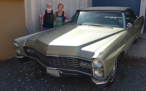 Cadillac Deville Convertible 1967 - Corinne ANFONSSO